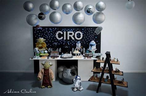 guerra de las galaxias manualidades de papel impactante decoraci 243 n de fiesta infantil star wars