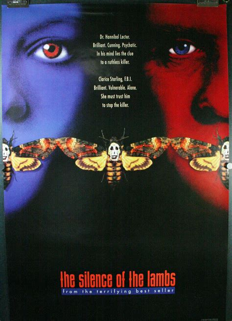 hairstyle posters for sale silence of the lambs original horror teaser style c movie