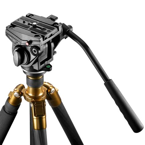 Tripods And Monopods With 3 8 pro fluid drag tripod for cameras