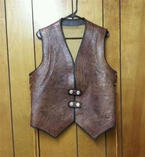 Handmade Leather Vest - the world s catalog of ideas
