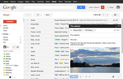 mail gmail upgrades gmail interface now less drafty the