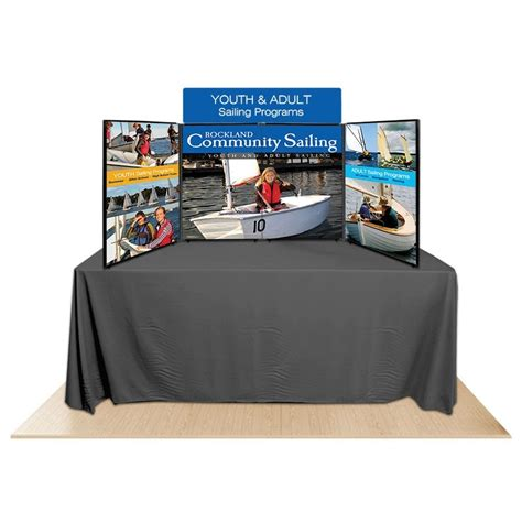 4 panel promoter36 table top display kit 2