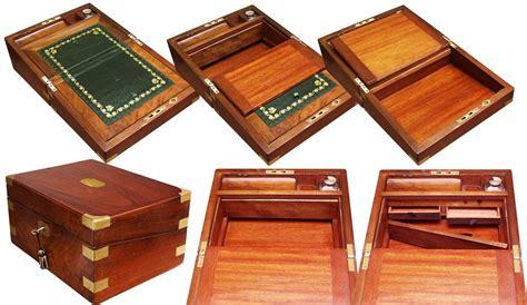 love secret drawers victorian walnut writing slope