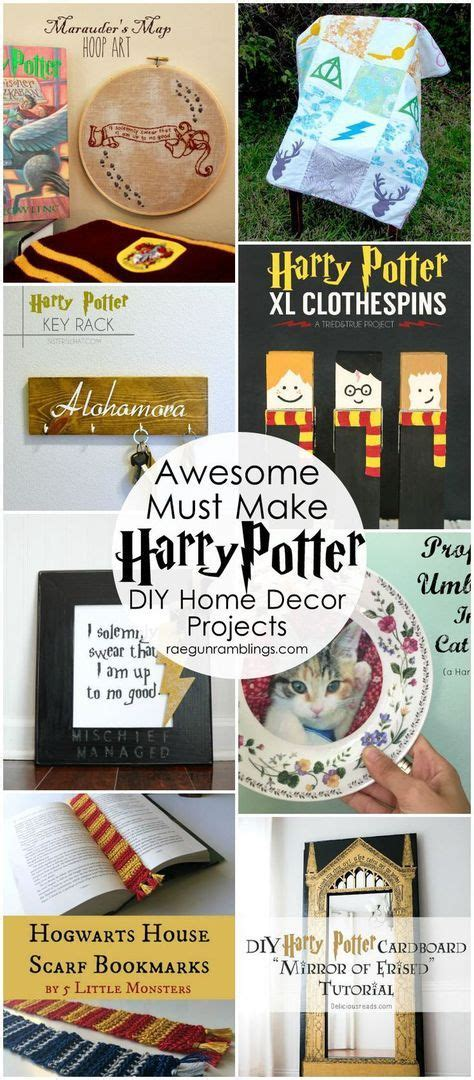 Harry Potter Diy Decor by 50 Awesome Harry Potter Projects Diy Harry Potter Harry Potter And Tutorials