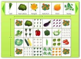 Planning A Garden Layout With Free Software And Veggie Free Square Foot Garden Planning Tool