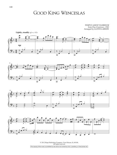good good father sheet music direct good king wenceslas sheet music direct
