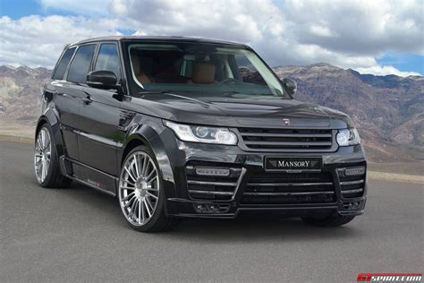 land rover sport cars official mansory range rover sport gtspirit