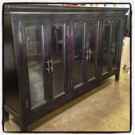 Cabinet Doors Dallas Soho Six Door Glass Cabinet Nadeau Dallas
