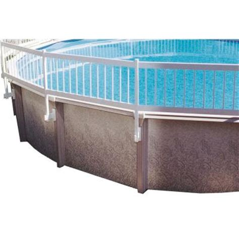 unparalleled gli above ground swimming pool fence kit 8