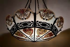 stained glass chandelier stained glass chandelier for sale at 1stdibs