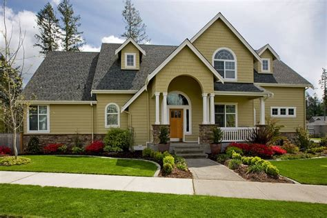 exterior house colors themes