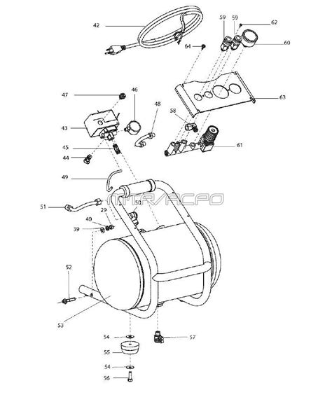 sears craftsman 921 166360 air compressor parts