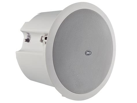 Ceiling Speakers With by 50w 6 Quot 1 5 Quot Coax Ceiling Speaker 6 12 25 50w 8ohm