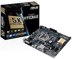 Motherboard Asus H110m D Micro Atx H110 7th Intel Ddr4 Resmi New intel socket 1151 pc gear