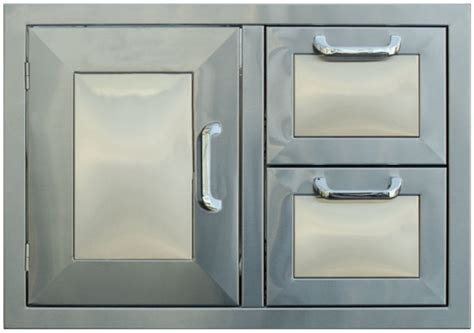pcm bbq island 30 226 combo unit 2 drawer 1 door stainless
