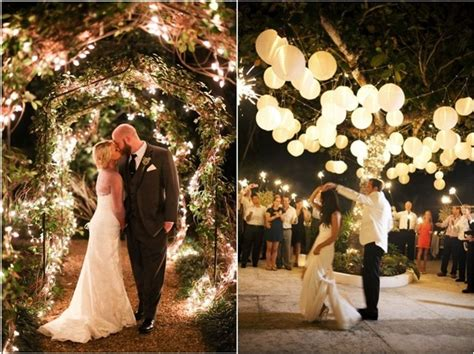 40 Romantic And Whimsical Wedding Lighting Ideas   Deer