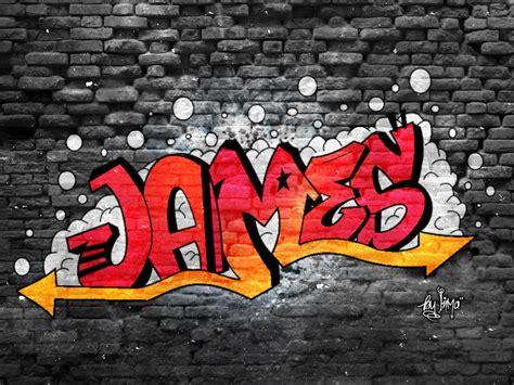 Graffiti Wallpaper James | james graffiti by inmany on deviantart