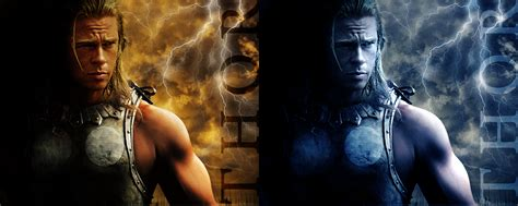 film thor brad pitt brad pitt as thor by hobo95 on deviantart