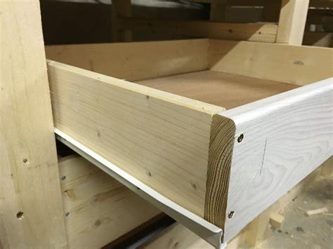 schublade unter werkbank schubladen bauen der bau des schubladen korpus