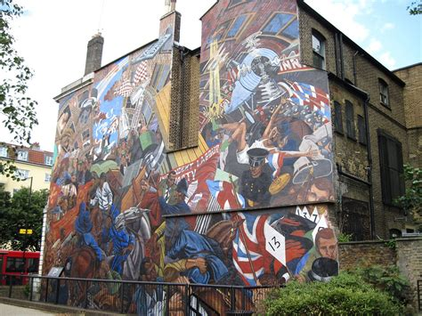 Union Jack Wall Mural cable street mural wikipedia