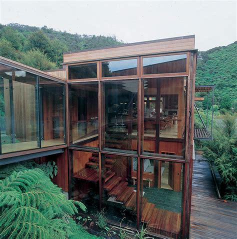 waterfall bay house  zealand residence  architect