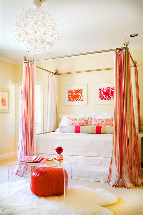 orange white bedroom pink orange and white in the bedroom interiors by color