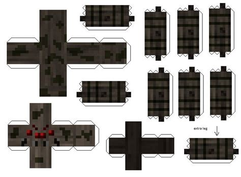 Minecraft Papercraft Skeleton - minecraft papercraft creeper related keywords