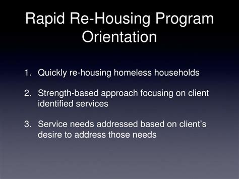 rapid re housing program ppt virginia learning collaboratives powerpoint presentation id 2716912