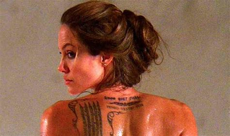 tattoo angelina jolie betekenis birthday girl angelina jolie s 9 tattoos and their