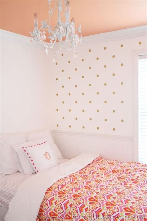 paint polka dots bedroom wall 1347 best images about girls rooms on pinterest window