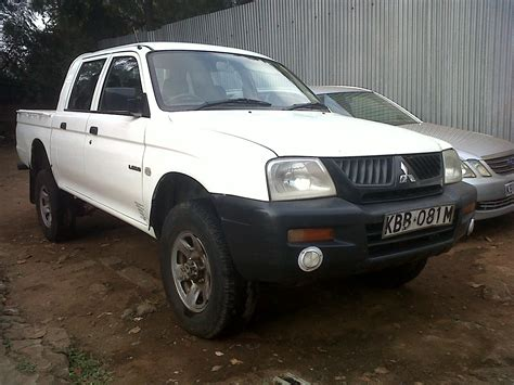 mitsubishi car 2006 2006 mitsubishi l200 pictures information and specs