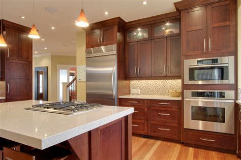 kitchens with cherry cabinets best granite countertops for cherry cabinets the