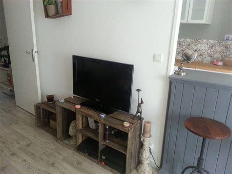 etagere bauen meuble t 233 l 233 diy apple crate box caisse pomme