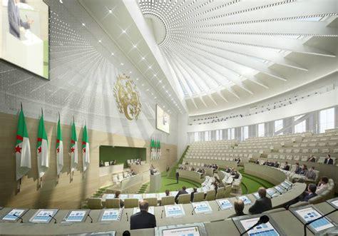 bureau des congr鑚 photos d 233 couvrez le superbe futur parlement alg 233 rien
