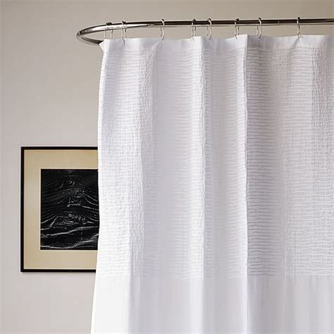pintuck drapes pintuck shower curtain west elm