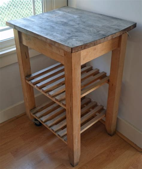 ikea cart on wheels budget rental kitchen remodel that is easily reversible smart diy solutions for renters