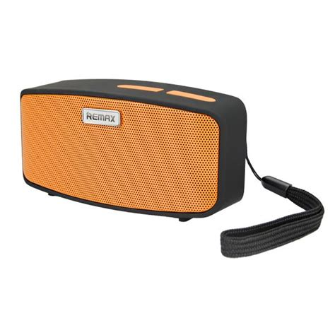 Remax Fabric Bluetooth Speaker With Usb Sound Card Rb M17 speaker bt remax yellow rm m1