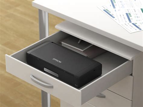 small color printer epson wf 100 mobile printer quality in a tiny package