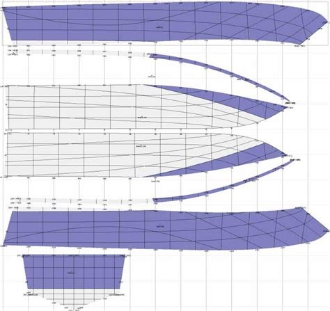 boat hull plans delftship topic small planing hull jetboat 1 1