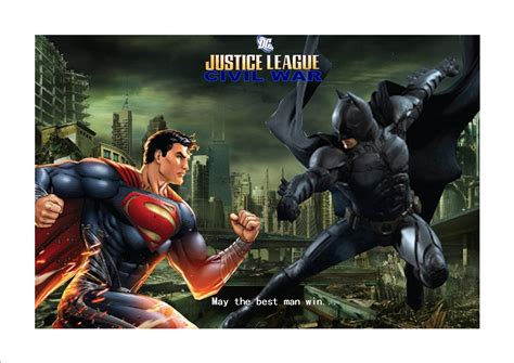 full movie justice league war justice league civil war poster 2 by justiceavenger on