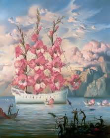 ship flowers vladimir kush paintings prints sculptures for sale