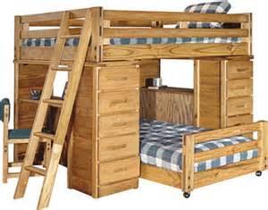 Barn Door Bunk Bed Desk Bunk Bed Combo From Barn Door