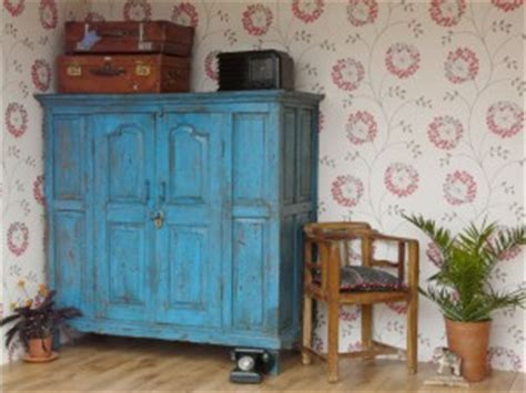 the many uses of an old vintage or antique wooden cupboard
