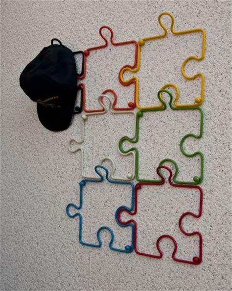 design haken designer kleiderhaken quot puzzle quot 20cm garderobe wandhaken