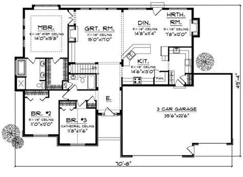 1800 Sq Ft Ranch House Plans 13 Best 1700 1800 Sq Ft House Images On Ranch Home Plans Ranch House Plans And