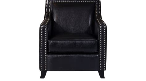Black Accent Chairs For Living Room 319 99 Hshire Black Accent Chair Upholstered Synthetic