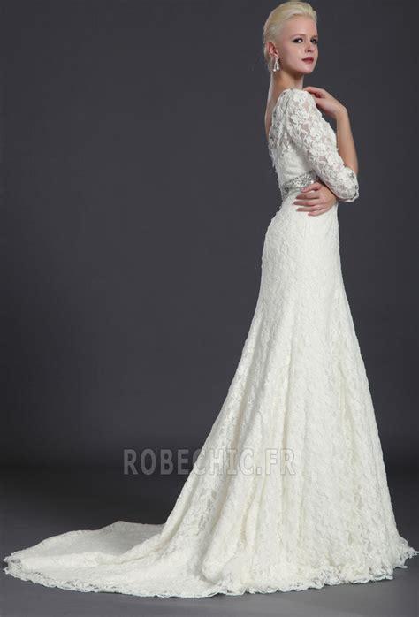 Robe De Mariée Simple Dentelle Dos - robe de mari 233 e dentelle simple le mariage