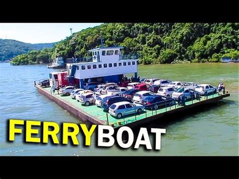 ferry boat guaratuba ferry boat guaratuba matinhos travessia completa