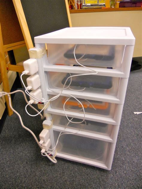 diy tablet charging station smart house organization ideas