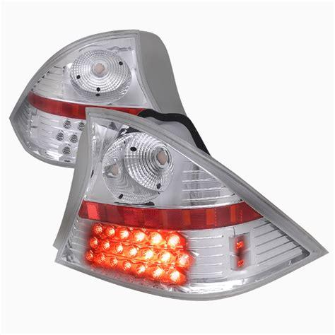 2003 honda civic lx tail light pro design clear led tail lights for 2003 honda civic